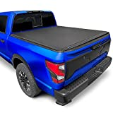 Tyger Auto T3 Soft Tri-Fold Truck Bed Tonneau Cover for 2017-2020 Nissan Titan Without Titan Box Fleetside 5.5' Bed TG-BC3N1048
