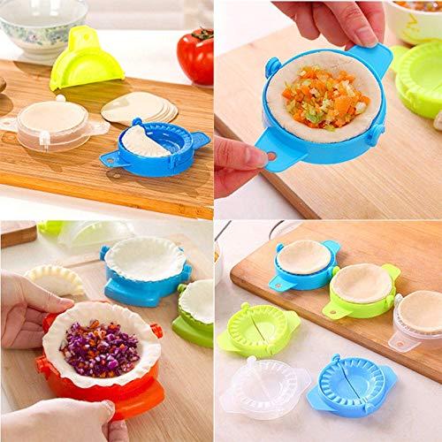 Useful Kitchen Dumpling Tools Dumpling Maker Device DIY Jiaozi Kitchen Mould Gadgets