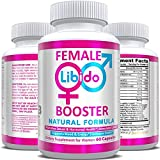 Natural Female Desire Booster Supplement Pills - Powerful Enhancement of Desire, Energy & Mood, Vaginal Health & Hormone Balance Complex for Women, with Maca Root & Horny Goat Weed - Made in USA