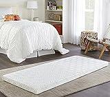Thomasville Store Memory Foam Mattress Roll-Up Guest Bed/Floor Mat, 3' Single