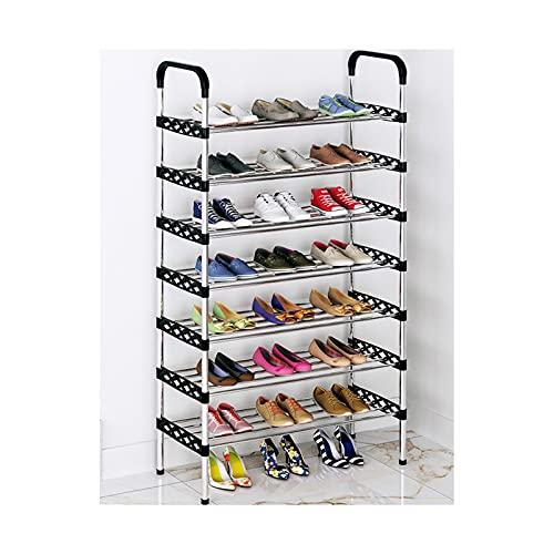 HYAN Zapatero Equipo de Zapato de múltiples Capas Económico Persalte Libre de Zapatos Estante de Zapatos Gabinete Organizador para la Puerta de Entrada Caja de Zapatos (tamaño : 7 Layers (133cm))