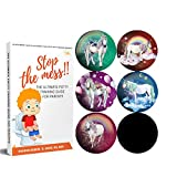 Potty Training Seat Magic Sticker | Unicorn toddler Potty Training Toilet Color Changing Sticker | 5 Pack Toilet targets with FREE potty e book | Use with or Without Potty chart or potty watch