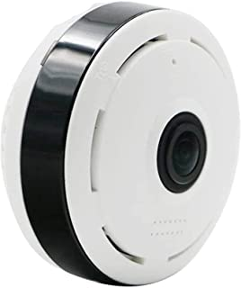 SYLOZ-Q كاميرا سحابة 360 درجة - HD 1080P - Wi-Fi Globe Panoramic Camera - Fish Eye P2P كاميرا IP - IR للرؤية الليلية أمن ا...
