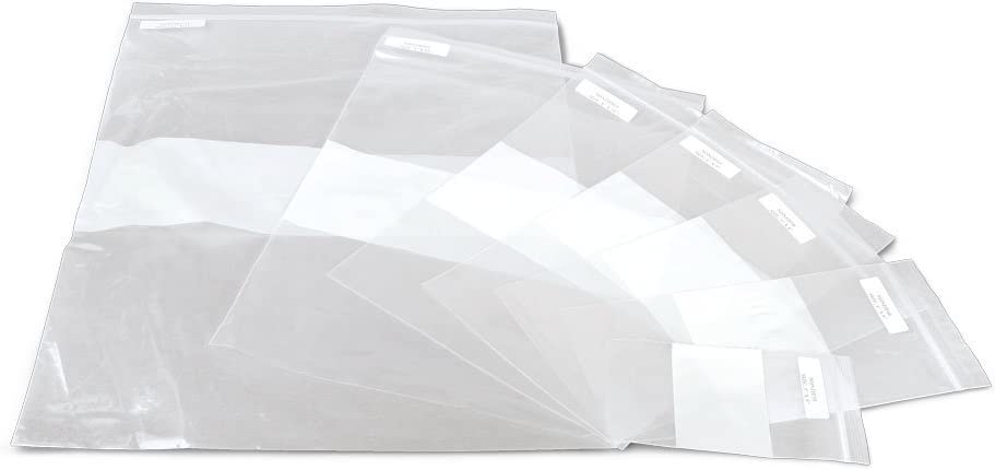Medline NONZIP1215 Plastic Zip Closure OFFicial Write-On with White Max 89% OFF Bags