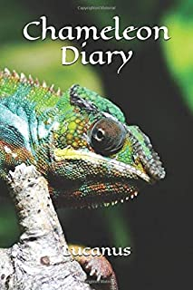 Chameleon Diary: Chameleons Are Awesome, Gecko, Iguana, Small Dragon, Lizard Journal To Write In, Lined Notebook For Schoo...