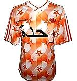 adidas Netherlands - Camiseta de fútbol para hombre, diseño retro, talla grande