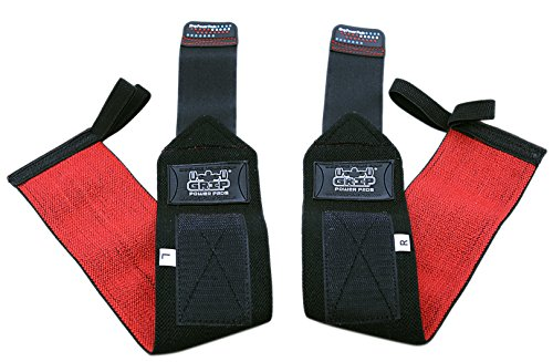 Grip Power Pads Deluxe Wrist Wraps …