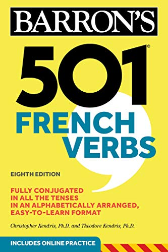 501 French Verbs (Barron's 501 Verbs) (French Edition)