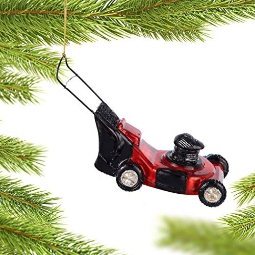 Personalized Lawn Mower Christmas Ornament - Birthday Gift for Dad