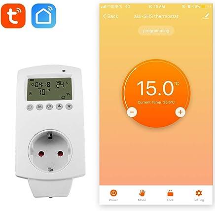 einfach zu bedienende und vorprogrammierte Klimaanlagensteuerung Intelligente AirPatrol WiFi Unterst/ützt iOS und Android Thermostat f/ür AC und W/ärmepumpen IFTTT-kompatibel mit  Alexa und Google Home.