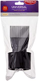 Red by Kiss Universal Hair Dryer Nozzle, Short Comb