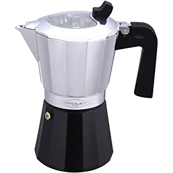 Jata Hogar Cafetera Italiana Full Induction, Aluminio, Negro, 14.5 ...