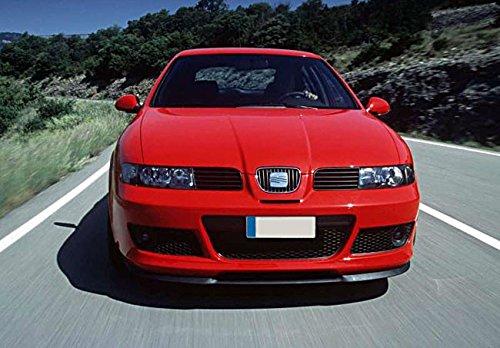 Alerón frontal Seat Leon Toledo 1M Extensión Parachoques 3 Piezas Cup R 99-06