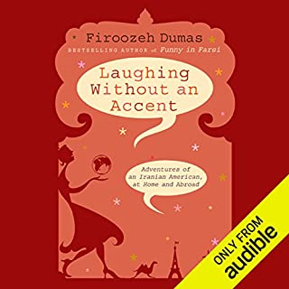 Laughing Without an Accent audiobook cover art