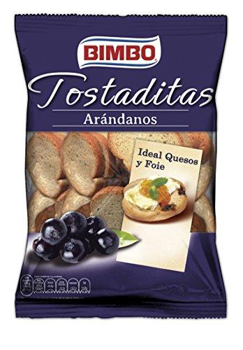 Bimbo Tostaditas con Arándanos, 90g