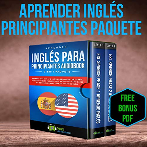 Aprender Inglés para Principiantes 2-en-1 Paquete [Learn English for Beginners 2-in-1 Package]  By  cover art