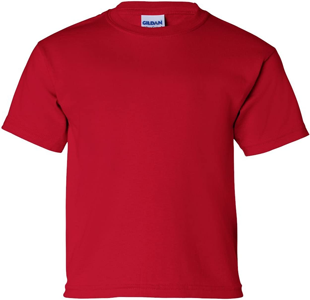 Cotton T-Shirt (G200B) Cherry Red, XL (Pack of 12)