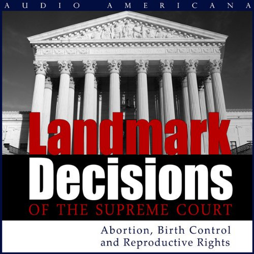 Landmark Decisions of the Supreme Court audiobook cover art
