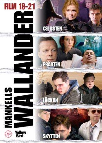 Wallander Box 5 (18-21):(NO ENGLISH SUBTITLES) Cellisten (The Cellist), Prasten (The Priest), Lackan (The Infiltration) and Skytten (The Sniper)