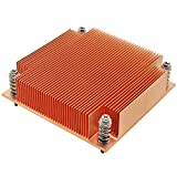 1U Server CPU Cooler Copper Skiving fin heatsink for Intel 1150 1151 1155 1156 i3 i5 i7 Industrial Computer Passive...