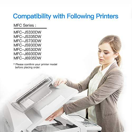 5 LxTek LC3219XL Reemplazo Compatible para Brother LC3219XL LC3219 LC3217 Cartuchos de Tinta para Brother MFC-J5330DW MFC-J5335DW MFC-J5730DW MFC-J5930DW MFC-J6530DW MFC-J6930DW MFC-J6935DW