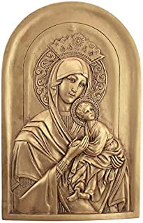 Design Toscano Virgin Mary Eleousa Wall Sculpture