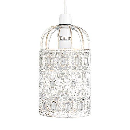 MiniSun - Preciosa pantalla de lámpara de techo de metal