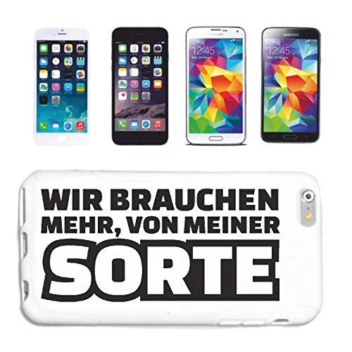 Bandenmarkt telefoonhoes compatibel met Samsung Galaxy S3 WIR MEER van mijn soort jongenscellerend leuk shirt party stemming hardcase beschermhoes hand