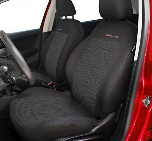 Housse de siège universelle Elegance pour CITROEN (AX - BX - C3 - C4 - C5 - CX - SAXO - XANTIA - XM - XSARA - ZX) (P1)