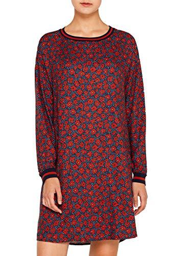 edc by ESPRIT Damen 109CC1E017 Kleid, Orange (Terracotta 805), (Herstellergröße: 38)