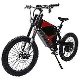 LPsweet 72V 3000WFC-1 Vorne Und Hinten Stoßdämpfer Weicher Schwanz All Terrain Electric Mountain Bike Leistungsstarke Elektro-Fahrrad Ebike Berg