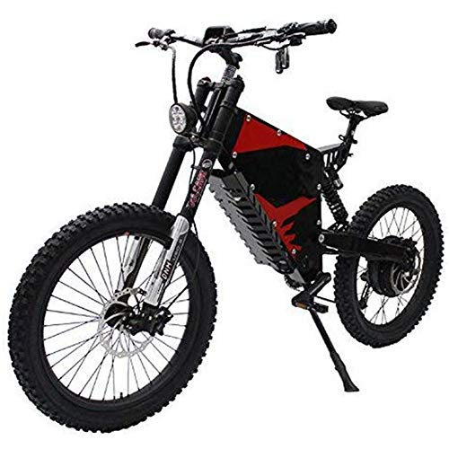 Sale!! LJHHH 60V 1500W Powerful Electric Bicycle Ebike Front and Rear Shock Absorber Soft Tail All T...