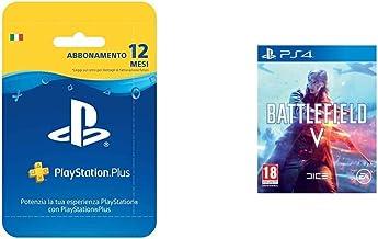 PlayStation Plus Card Hang Abbonamento 12 Mesi Battlefield V, PlayStation 4