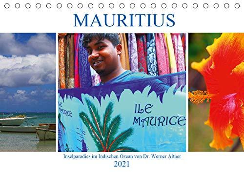 Mauritius - Inselparadies im Indischen Ozean (Tischkalender 2021 DIN A5 quer)
