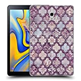 Head Case Designs Officiel LebensArt Maroc Violet Glamour Coque Dure pour l'arrière Compatible avec Samsung Galaxy Tab A 10.5 2018