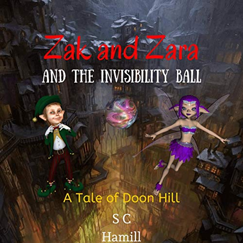 Zak and Zara and the Invisibility Ball audiobook cover art