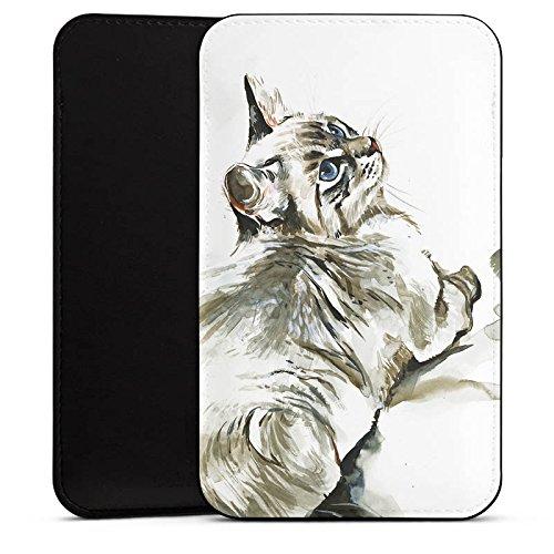 DeinDesign Cover kompatibel mit Wiko Barry Hülle Tasche Sleeve Socke Schutzhülle Cat Katze Kitten