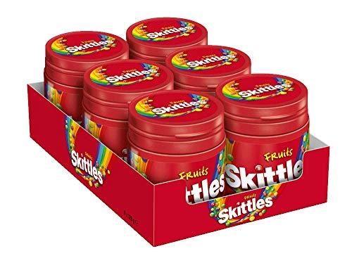 Skittles Kaubonbons | Fruits | 6 Dosen (6 x 125 g)