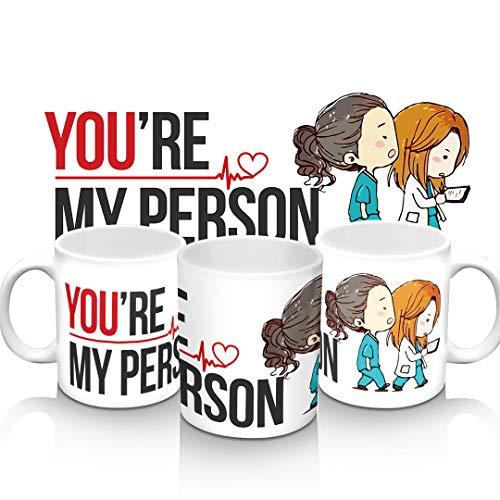 Caneca Grey's Anatomy You're my person