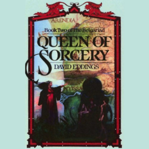 Queen of Sorcery audiobook cover art