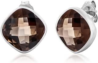 Best smoky quartz earrings Reviews