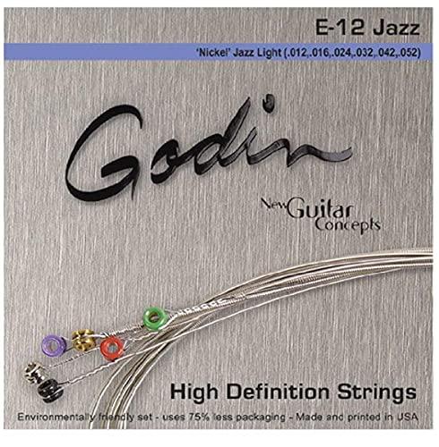 Godin Guitars 33416 - Corde per chitarra elettrica in bronzo fosforoso