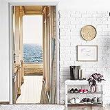 GoldenBall Door Wallpaper Party Dekorative wasserdichte