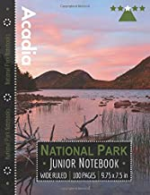 Acadia National Park Junior Notebook: Wide Ruled Adventure Notebook for Kids and Junior Rangers