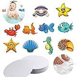 EQLEF Anti Rutsch Sticker, Runde Anti-Rutsch-Pads, Bad Dusche niedlich Sicherheit Baby rutschfeste Aufkleber für Kinder, Erwachsene