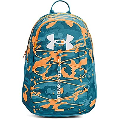 Under Armour Adult Hustle Sport Backpack , Radar Blue (422)/White , One Size Fits All