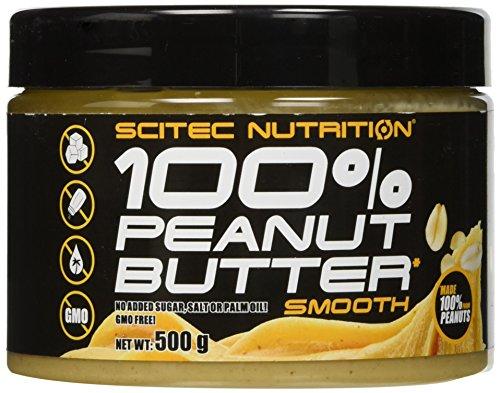 Scitec Nutrition 100% Peanut Butter Smooth Cibo Funzionale - 500 g