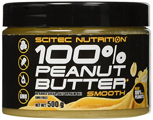 Scitec Nutrition 100% Peanut Butter Smooth, 500 grammi