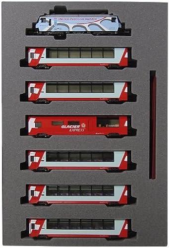 Glacier Express von Spur N 10-1219 Alpen [UNESCO Farbe Farbe] 7-Wagen-Set