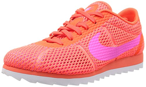 Nike W Cortez Ultra BR, Scarpe da Fitness Donna, Arancione Naranja Total Crimson Pink Blast White, 37.5 EU